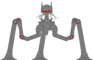 Martian War Machine Redesign with Tentacles