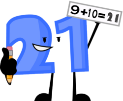 21's new pose
