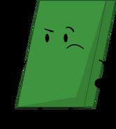 Green Eraser pose new