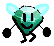 Winged diamond