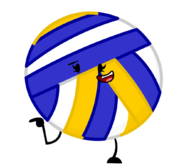 Volleybally Fan-Made Pose