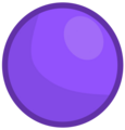 Purple ball's new body