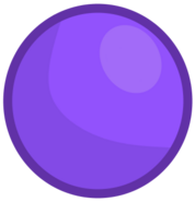 Purple ball's new body