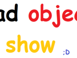 Bad object show