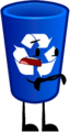 Object Terror Recycling Bin