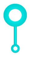 Bubble wand asset oms style