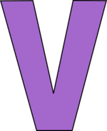 6ad87df42336c91fc74819591a628d83 purple-letter-v-clipart-that-begins-with-letter-v 445-550