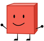 Blocky with stretched arms