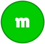 Green M&M Body