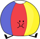 Beach Ball Pose