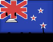 New Zealand Flag Pose