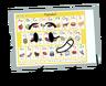 4, Alphabet Chart