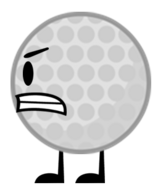 Golf Ball angry