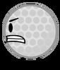 Golf Ball angry