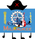 Milwaukee Flag Pose