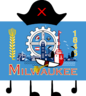 Milwaukee Flag Pose