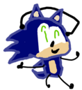Sanic New Pose