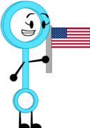 Bubble wand holding the u s flag by tylerthemoviemaker6-dcgaca0