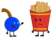 Fries And Berry