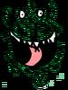 Melon's Christmas Face