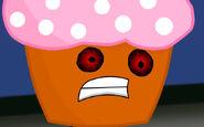 Weird Face Cupcake IDK