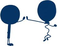 Balloony and Lollipop High 5
