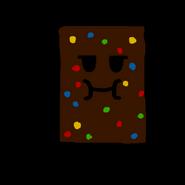 Cosmic brownie