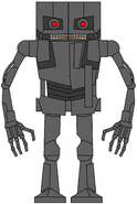 Fridgey as The Terminator