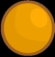 Orange ball's new body
