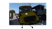 School Bus Crashed With Truck Picture