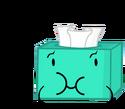 Tissue box- like spongy