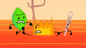 Firey, Leafy and Needle (BFB 15)
