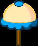 Her umbrella perry