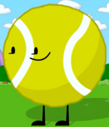 Tennis Ball's Pose