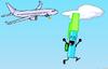 Ben skydiving