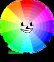 Colour Wheel Pose