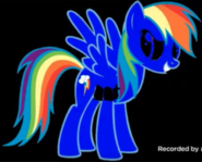 Mega Dark Rainbow Dash