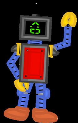 Robo's pose