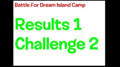 BFDI II Camp Results 1 and Challenge 2