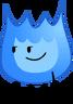 Blue Firey Pose