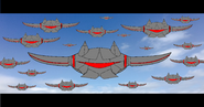 Jacknjellify's War of The Worlds - Sky Battle