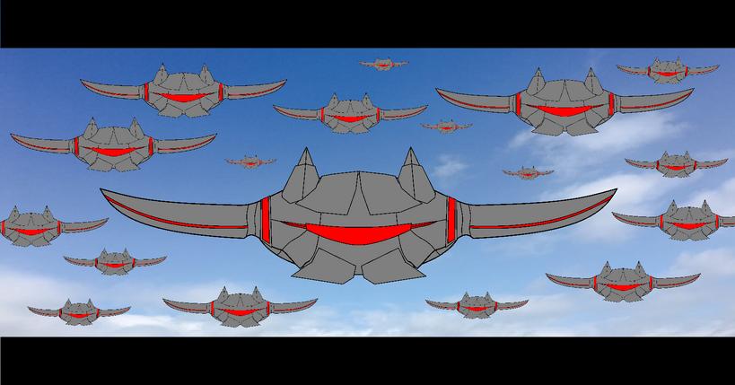 Jacknjellify's War of The Worlds - Sky Battle