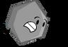 Grey Hexagon Pose