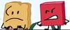 Blocky looking at Woody (BFB 22)