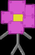 Old robot flower