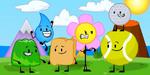 Gelatin, Teardrop, Woody, Flower, Tennis Ball and Golf Ball