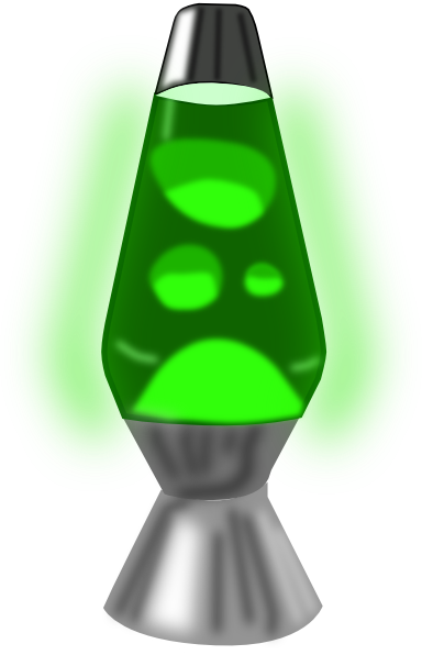 Lava Lamp Clipart 9