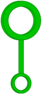 Green Bubble Wand (Object Variations Bodies)