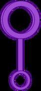 Purple Bubble Wand Body