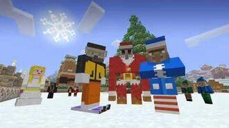 Minecraft Festive Edition Music Battle Map 1 (HD)